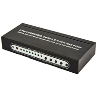 HDMI1.4 3x1 Switcher with Audio Extractor