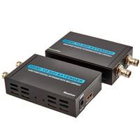 HDMI Extender 100m over coaxial cable with loopout